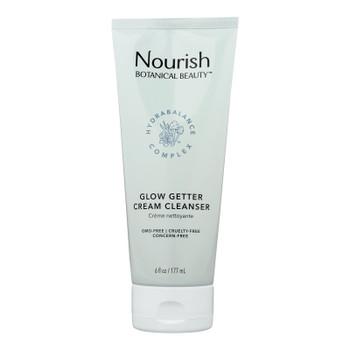 Nourish Botanical Beauty - Cream Cleanser Glow Getter - 1 Each - 6 Fz