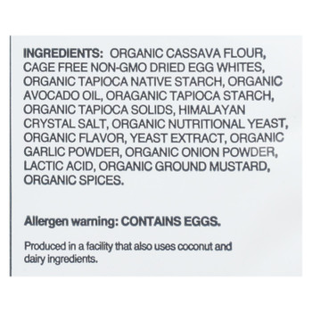 Lesser Evil - Curls Egg Wht Egg & Chs - Case Of 9 - 4 Oz