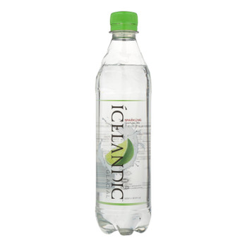 Icelandic Glacial - Water Sprkln Tahitian Lime - Case Of 24 - 16.9 Oz