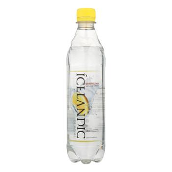 Icelandic Glacial - Water Sprkln Sicilian Lemon - Case Of 24 - 16.9 Oz