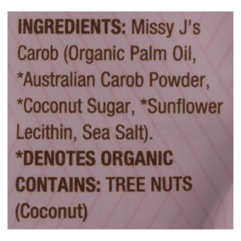 Missy Js - Carob Chips - Vegan - Case Of 6 - 8 Oz.