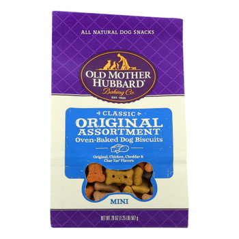 Old Mother Hubbard - Biscuits Mini Original Classic - Case Of 6 - 20 Oz