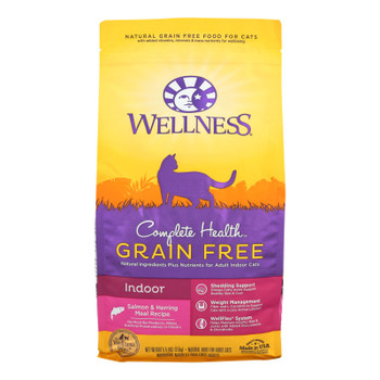 Wellness Pet Products - Cmplt Hlth Meal Salm/hrng - Case Of 4 - 5.5 Lb