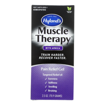 Hylands Homeopathic - Muscle Thrpy Gel W/arnica - 1 Each - 2.5 Oz