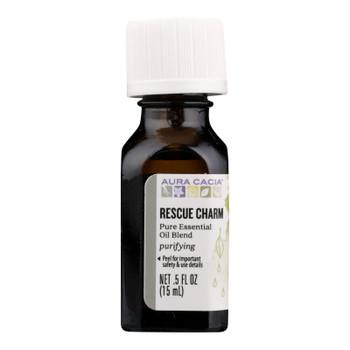 Aura Cacia - Ess Oil Rescue Charm - 1 Each - .5 Fz