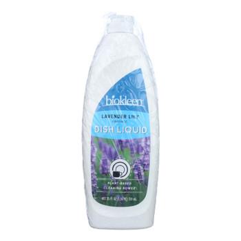 Biokleen - Dish Liquid Lavender Lily - Case Of 6 - 25 Fz