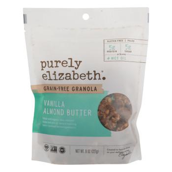 Purely Elizabeth - Gran Gluten Free Vanilla Almnd Butter - Case Of 6 - 8 Oz