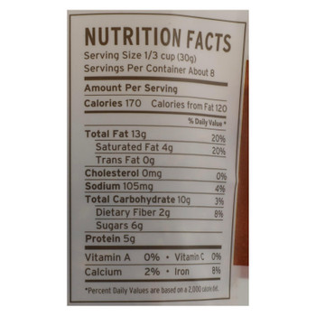 Purely Elizabeth - Gran Gluten Free Cinnamon Peanut Butter - Case Of 6 - 8 Oz