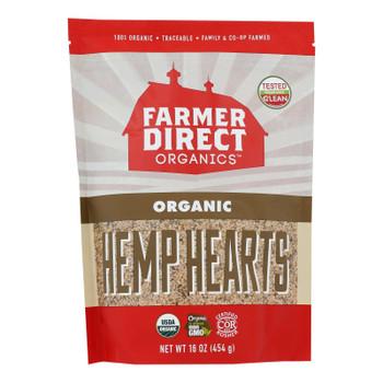 Farmer Direct Co-op - Hemp Hearts - Case Of 12 - 1 Lb