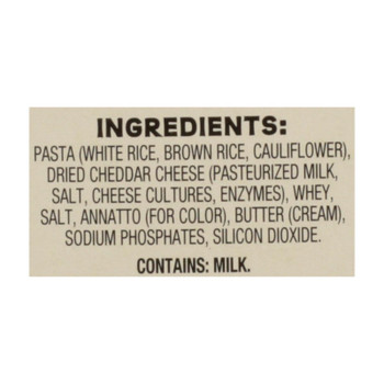 Good Citizens - Mac & Cheese Cauliflower - Case Of 12 - 6 Oz