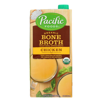 Pacific Natural Foods - Broth Bone Chicken - Case Of 12 - 32 Oz