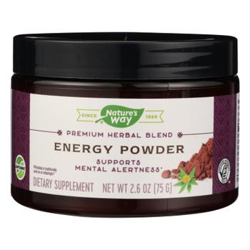 Nature's Way - Hrbl Blend Energy Powder - 1 Each - 2.6 Oz