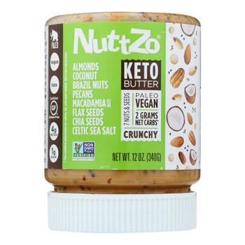Nuttzo - Nut & Seed Butter Keto - Case Of 6 - 12 Oz