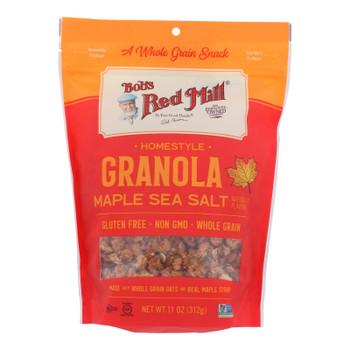 Bob's Red Mill - Granola Maple Sea Salt - Case Of 6 - 11 Oz