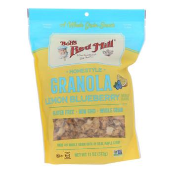 Bob's Red Mill - Granola Lemon Blueberry - Case Of 6 - 11 Oz