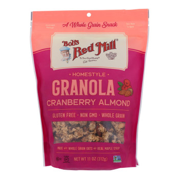 Bob's Red Mill - Granola Cranberry Almond - Case Of 6 - 11 Oz