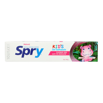 Spry - Tpaste Kids Bblgm Flrd Fr - 1 Each - 5 Oz