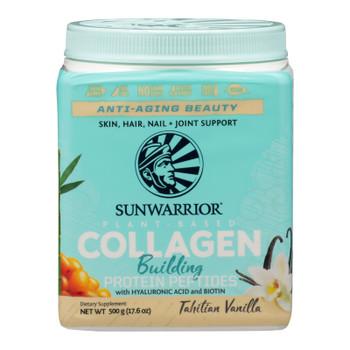 Sunwarrior - Collagen Tahitian Vanilla - 1 Each - 17.6 Oz
