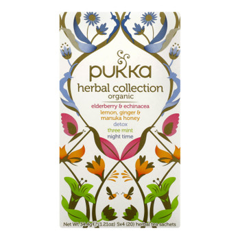 Pukka Herbal Teas - Tea Herbal Collection - Case Of 6 - 20 Ct