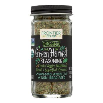 Frontier Herb - Seasng Blend Green Hrvst - Case Of 12 - 1.50 Oz