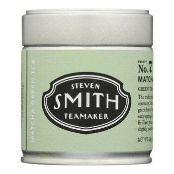 Smith Teamaker - Tea Green Matcha - Case Of 12 - 40 Gram