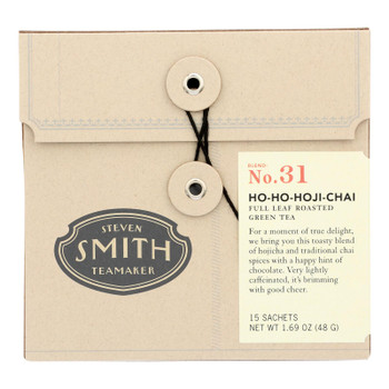 Smith Teamaker - Tea Chai Ho Ho Hoji - Case Of 6 - 15 Bag