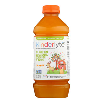 Kinderlyte - Kinderlyte Orange - Case Of 6 - 33.8 Fz