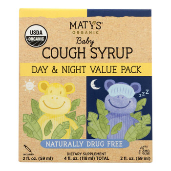 Maty's - Cgh Syrup Baby Day Ngt - 1 Each - 4 Fz