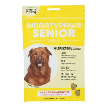 Smartypaws - Senior Frmla Peanut Butter - 1 Each - 60 Ct