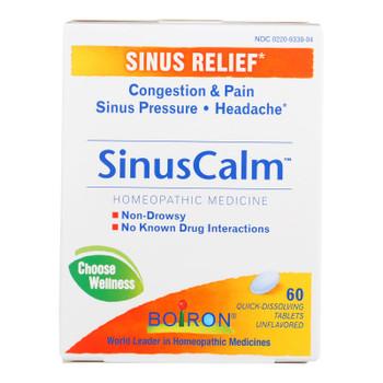 Boiron - Sinus Calm Sinus Relief - 1 Each - 60 Tab