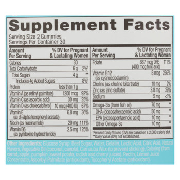 Olly - Prenatl Vitamin Folic Acd Cit - 1 Each - 60 Ct