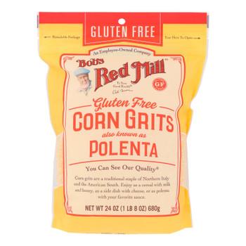 Bob's Red Mill - Corn Grits Polenta Gluten Free - Case Of 4 - 24 Oz