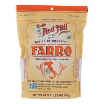 Bob's Red Mill - Farro - Case Of 4 - 24 Oz