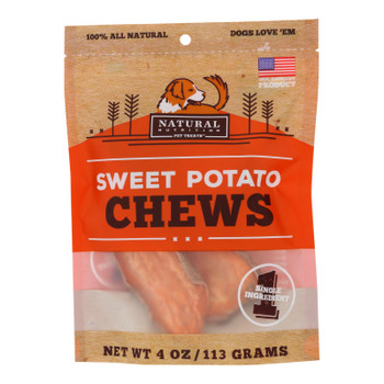 Natural Nutrition - Treats Sweet Potato Chews - 1 Each - 4 Oz