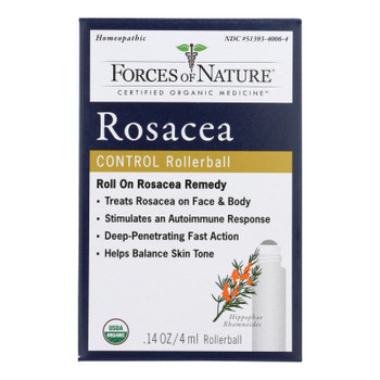 Forces Of Nature - Rosacea Control - 1 Each - 4 Ml