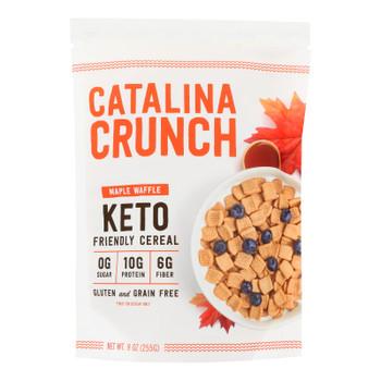 Catalina Snacks Inc - Crunch Crl Maple Waffle - Case Of 6 - 9 Oz