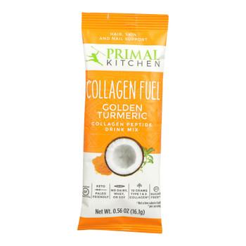 Primal Kitchen - Collagen Fuel Golden Turmrc - Case Of 12 - .56 Oz
