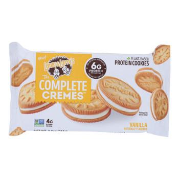 Lenny & Larry's - Creme Cookie Vanilla - Case Of 6 - 8.6 Oz
