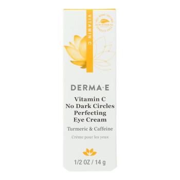 Derma E - Eye Cream Vitamin C Dark Circles - 1 Each - .5 Oz