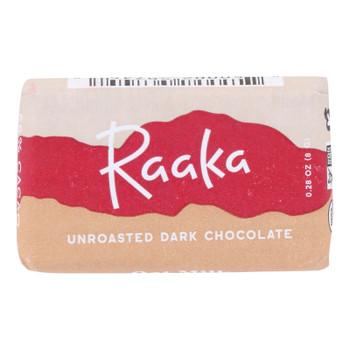 Raaka Chocolate - Bar Mini Oatmilk 58% - Case Of 100 - .28 Oz