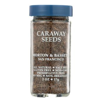 Morton & Bassett Caraway Seed Seasoning  - Case Of 3 - 2 Oz