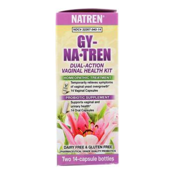 Natren Gy-natren Dual Action Vaginal Health Kit  - 1 Each - Ct