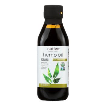 Nutiva Hemp Oil, Cold-pressed  - 1 Each - 8 Fz