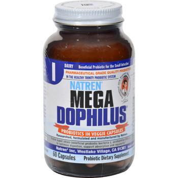 Natren - Megadophilus-dairy - 1 Each - 60 Cap
