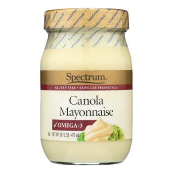 Spectrum Naturals Canola Mayonnaise  - Case Of 6 - 16 Fz