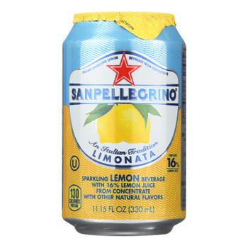 S. Pellegrino Lemon Sparkling Water  - Case Of 4 - 6/11.1oz