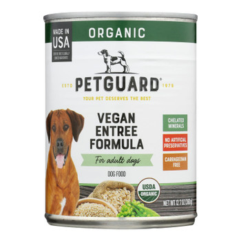 Petguard - Dog Vegan Entree - Case Of 12 - 12.7 Oz