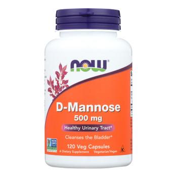 Now D-mannose Powder 500 Mg  - 1 Each - 120 Cap