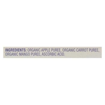 Plum Kids Plum Mu Fruit Veg Kids Snacks Carrot - Case Of 6 - 4/3.17oz