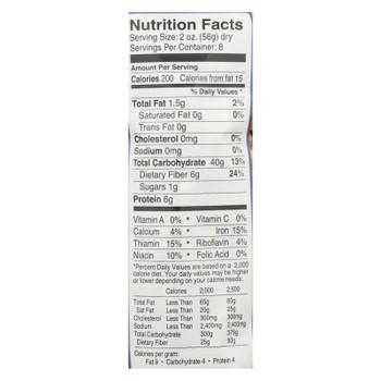 Delallo Biodynamic Pasta, Whole Wheat Fusilli  - Case Of 16 - 16 Oz